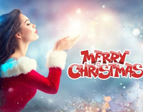 Merry Christmas Editing Background